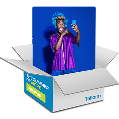 Z'khipha <strong>More</strong> this Summer with Telkom Prepaid