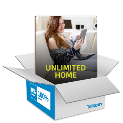 Get UNLIMITEDHome <br>Internet From <strong>R605pmx24</strong>