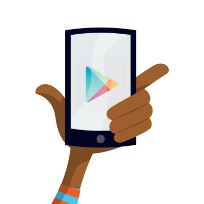 Get apps, books, games & more from the Google Play™ store